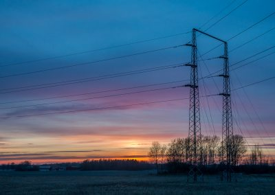 Pylon Sunset