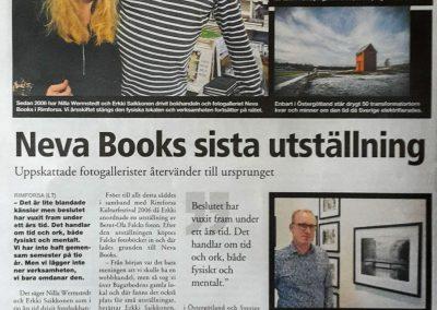 Reportage Länstidningen 2017-12-08