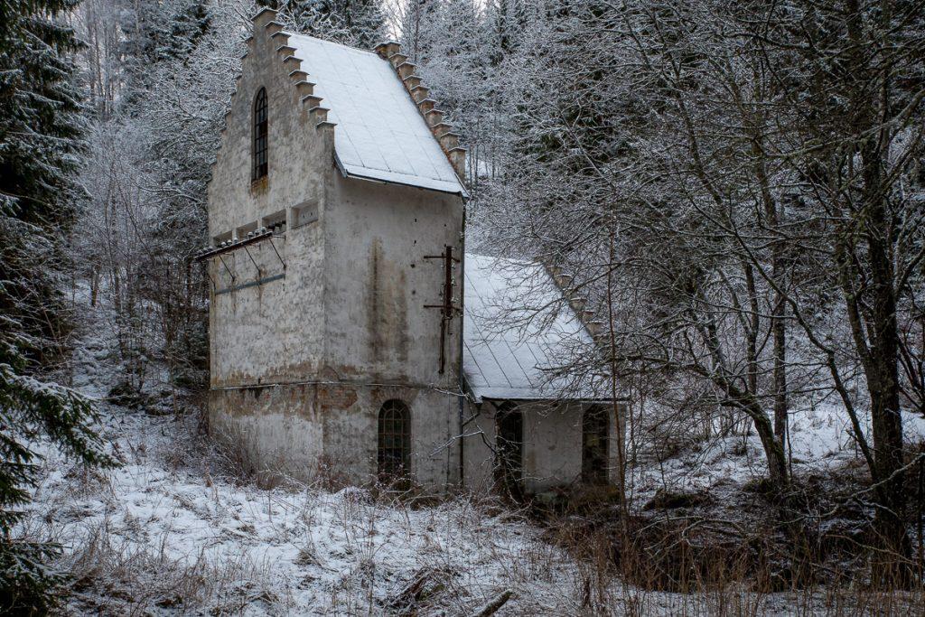 Det gamla vattenkraftverket
