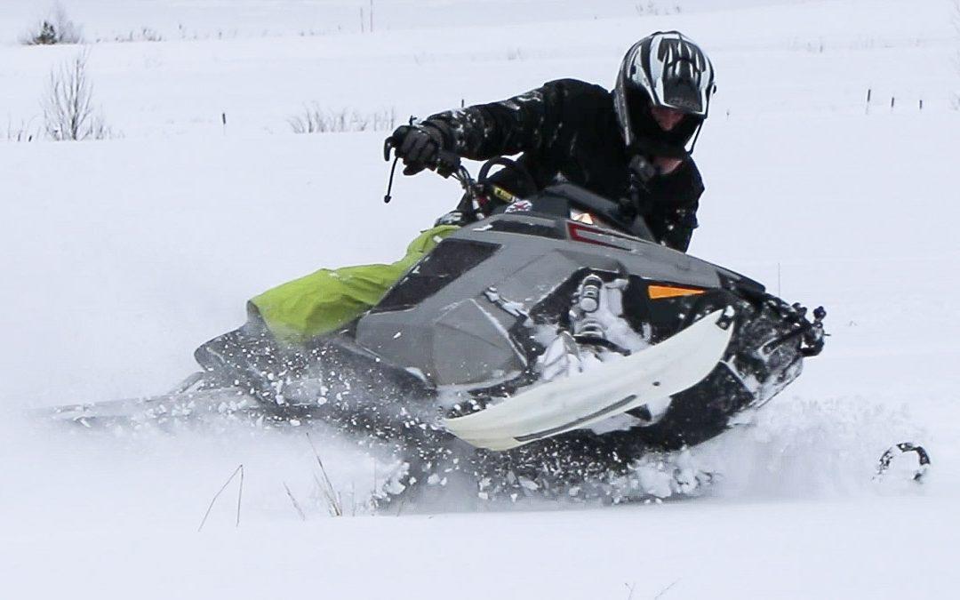 134 sekunder snöskoter